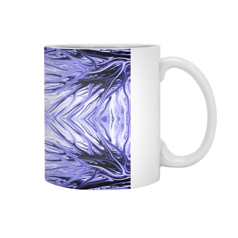Grape Ice Firethorn III by Chris Sparks Accessories Mug by Chris Sparks' Abstract Art Shop