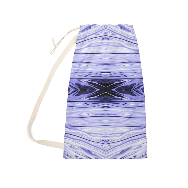 Grape Ice Firethorn IV by Chris Sparks Accessories Laundry Bag Bag by Chris Sparks' Abstract Art Shop
