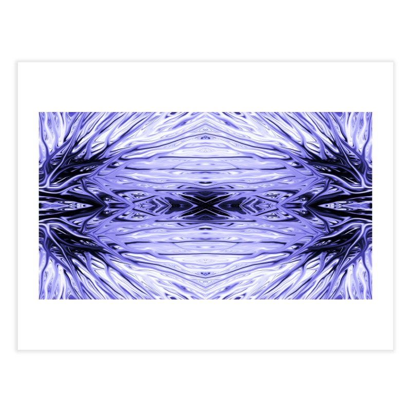 Grape Ice Firethorn IV by Chris Sparks Home Fine Art Print by Chris Sparks' Abstract Art Shop