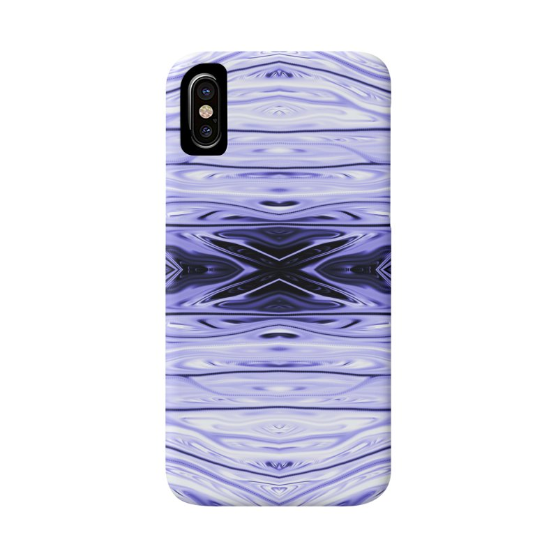 Grape Ice Firethorn IV by Chris Sparks Accessories Phone Case by Chris Sparks' Abstract Art Shop