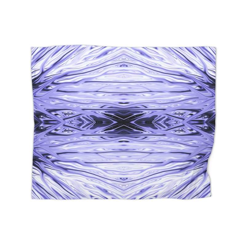 Grape Ice Firethorn IV by Chris Sparks Home Blanket by Chris Sparks' Abstract Art Shop