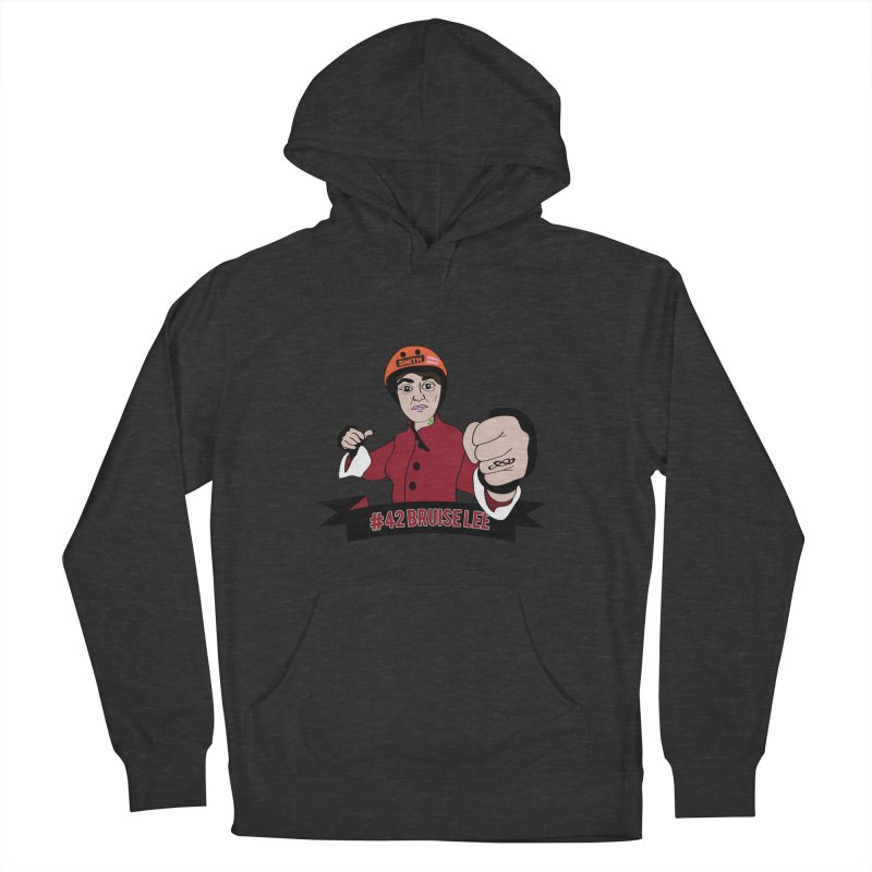 Bruise Lee Women's French Terry Pullover Hoody by Chris Talbot-Heindls' Artist Shop