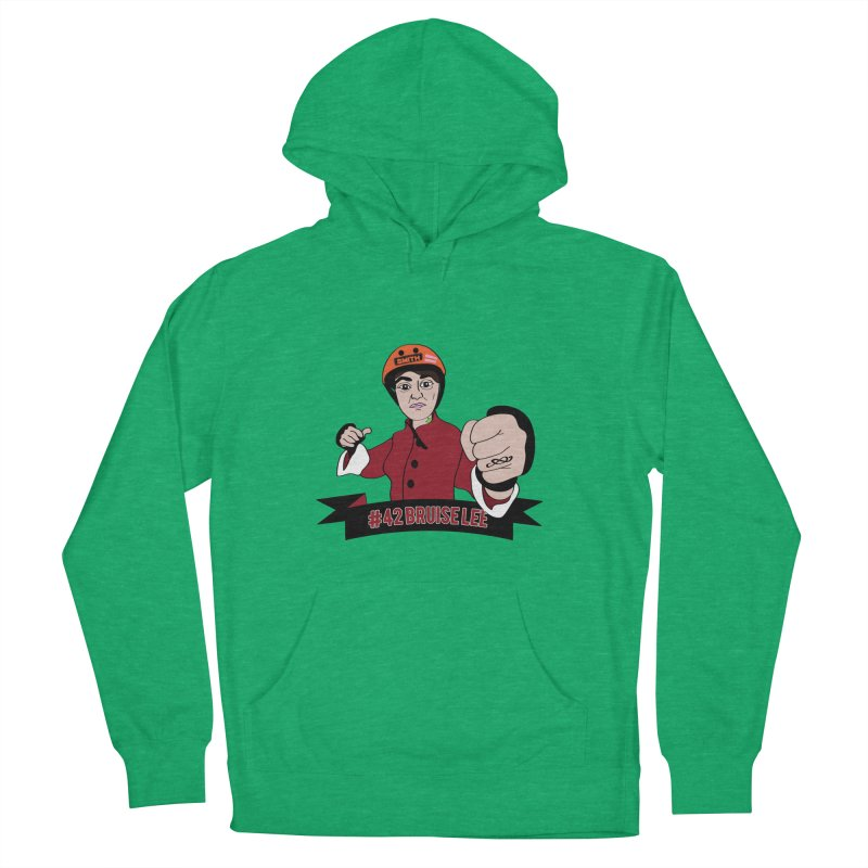 Bruise Lee Men's French Terry Pullover Hoody by Chris Talbot-Heindls' Artist Shop