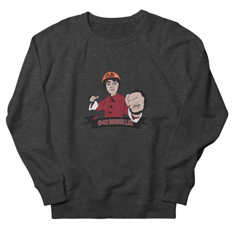 Bruise Lee Women's French Terry Sweatshirt by Chris Talbot-Heindls' Artist Shop