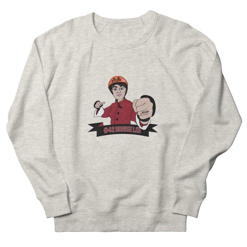 Bruise Lee Men's French Terry Sweatshirt by Chris Talbot-Heindls' Artist Shop