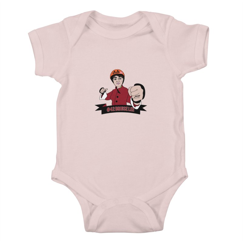 Bruise Lee Kids Baby Bodysuit by Chris Talbot-Heindls' Artist Shop