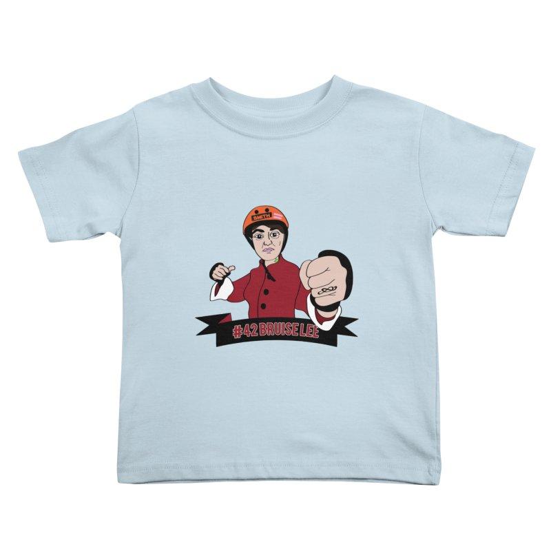 Bruise Lee Kids Toddler T-Shirt by Chris Talbot-Heindls' Artist Shop