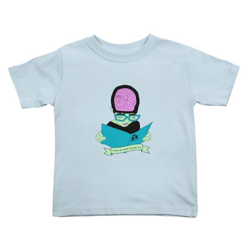 Green Zine As Weird As You Are Kids Toddler T-Shirt by Chris Talbot-Heindls' Artist Shop