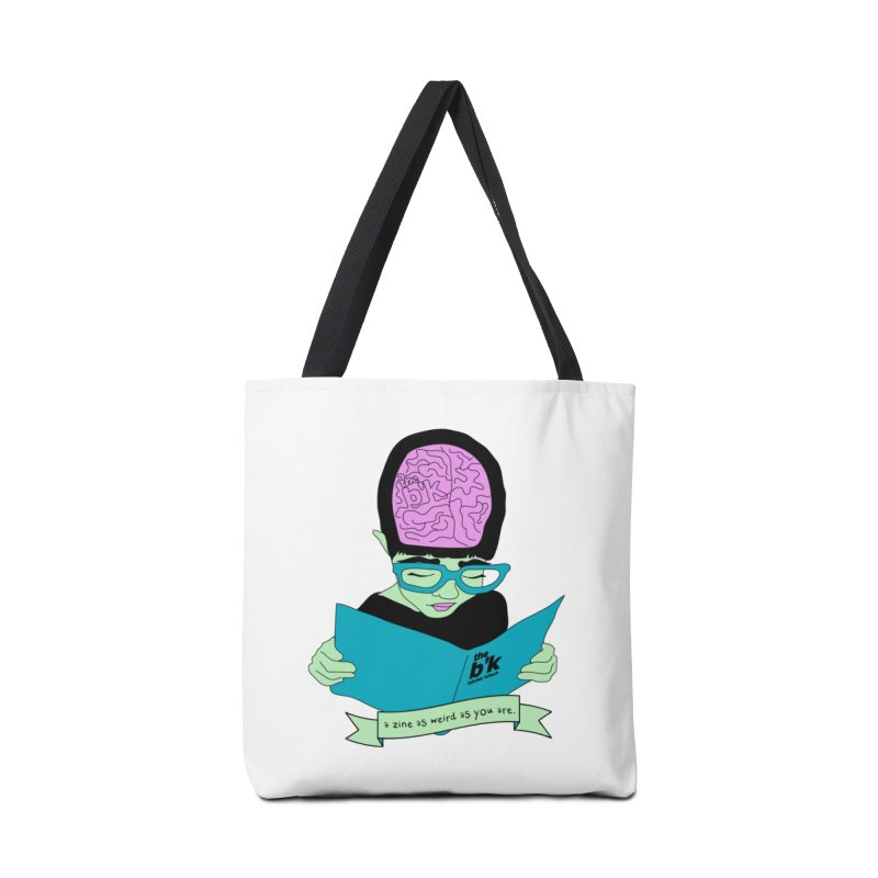 Green Zine As Weird As You Are Accessories Tote Bag Bag by Chris Talbot-Heindls' Artist Shop