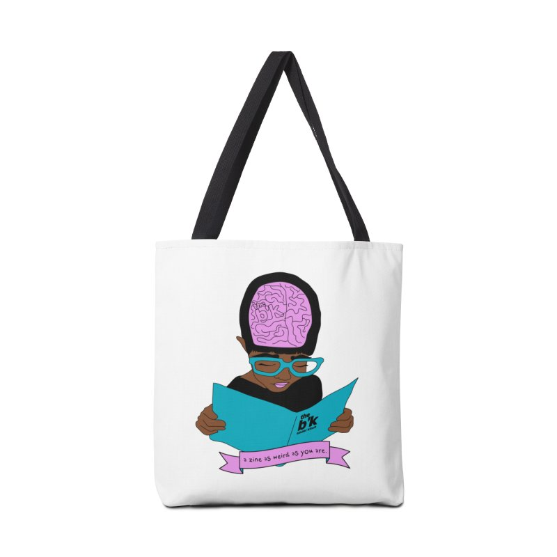 Brown Zine As Weird As You Are Accessories Tote Bag Bag by Chris Talbot-Heindls' Artist Shop