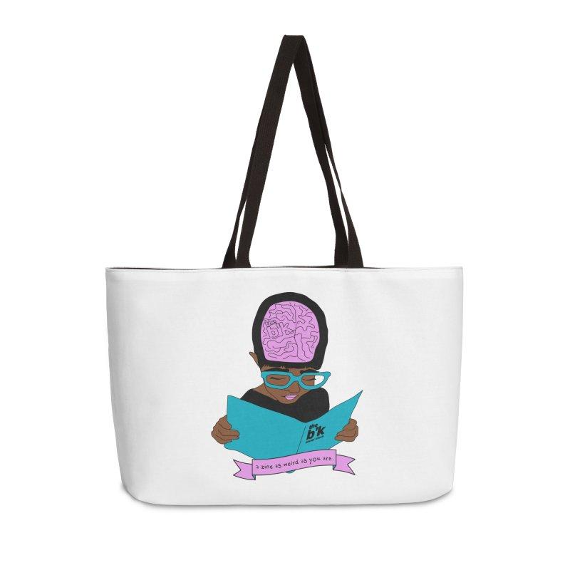 Brown Zine As Weird As You Are Accessories Weekender Bag Bag by Chris Talbot-Heindls' Artist Shop