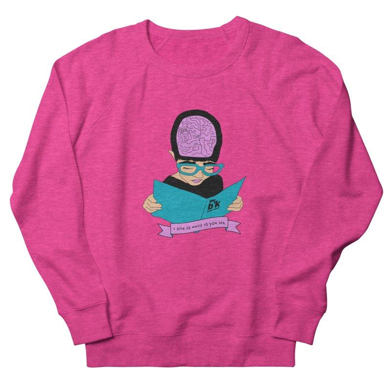 Cream Zine As Weird As You Are Women's French Terry Sweatshirt by Chris Talbot-Heindls' Artist Shop