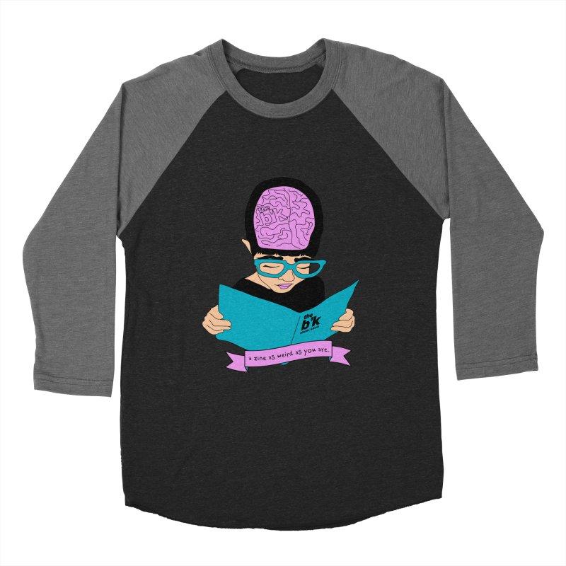 Cream Zine As Weird As You Are Men's Baseball Triblend Longsleeve T-Shirt by Chris Talbot-Heindls' Artist Shop
