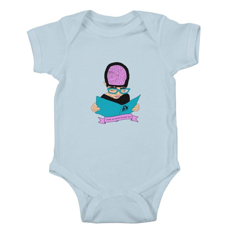 Cream Zine As Weird As You Are Kids Baby Bodysuit by Chris Talbot-Heindls' Artist Shop