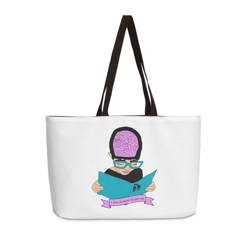 Cream Zine As Weird As You Are Accessories Weekender Bag Bag by Chris Talbot-Heindls' Artist Shop