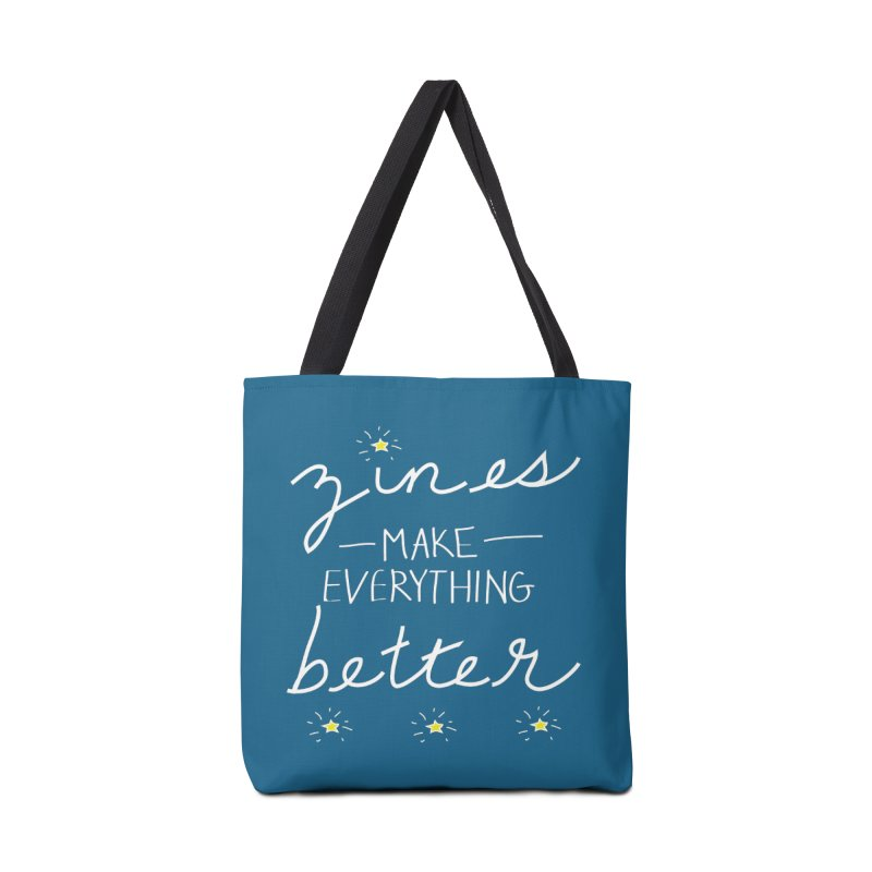 Zines Make Everything Better Accessories Tote Bag Bag by Chris Talbot-Heindls' Artist Shop