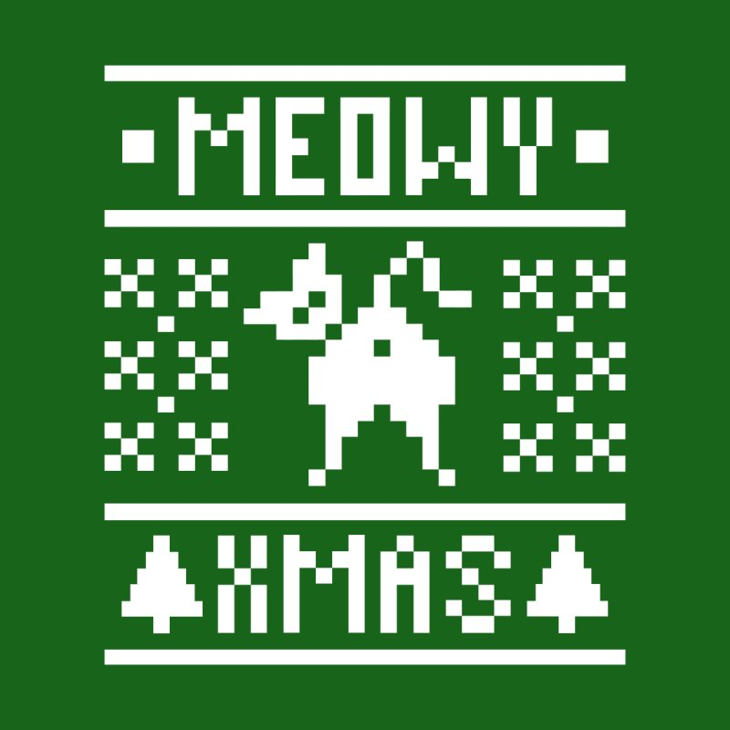 Meowy XMas by Chris Talbot-Heindls' Artist Shop