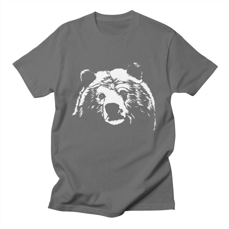 Grizzly Bear Men's T-Shirt by Chris Talbot-Heindls' Artist Shop