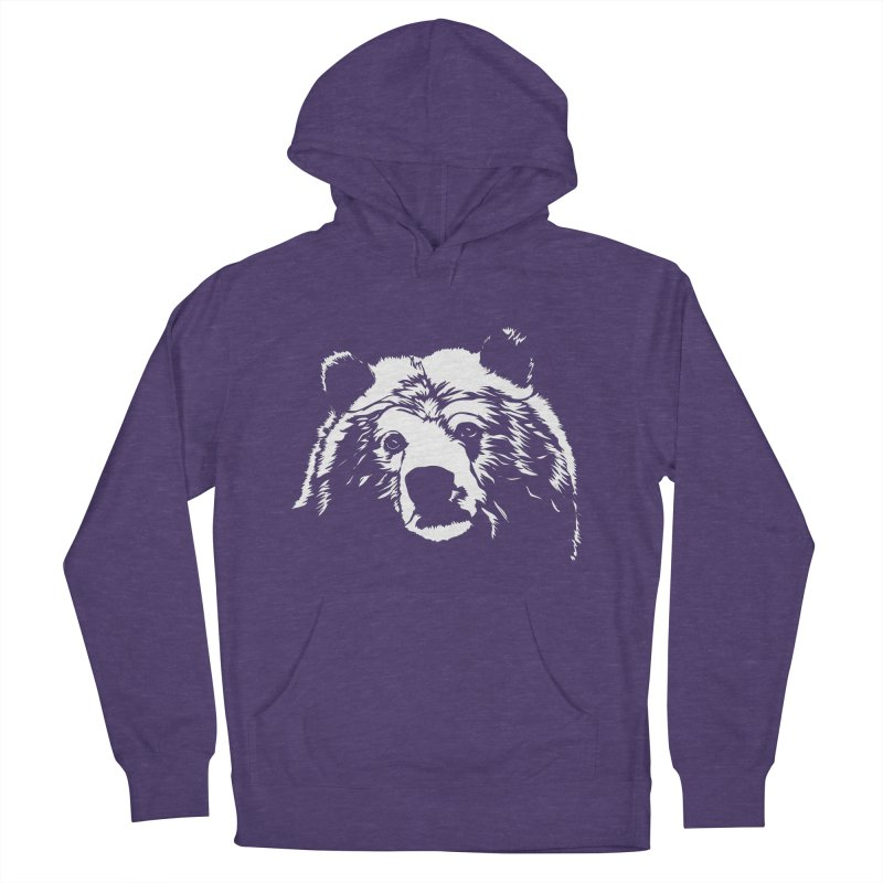 Grizzly Bear Women's French Terry Pullover Hoody by Chris Talbot-Heindls' Artist Shop