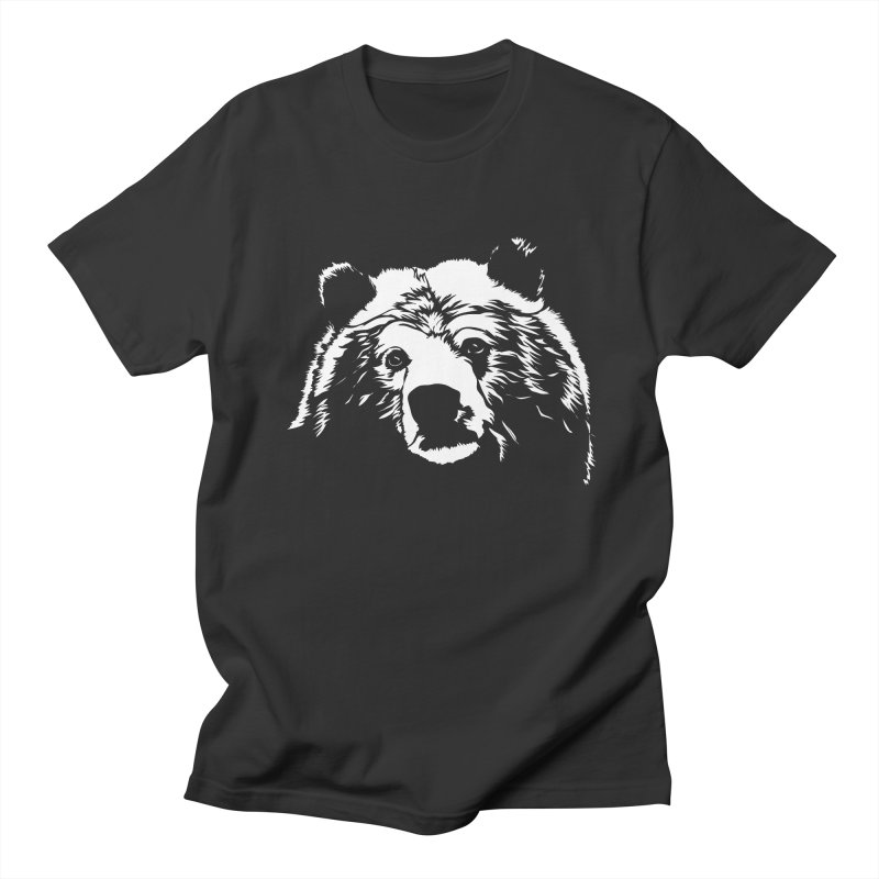 Grizzly Bear Men's Regular T-Shirt by Chris Talbot-Heindls' Artist Shop