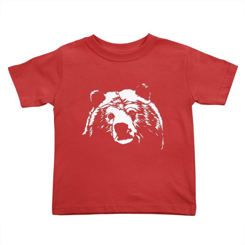 Grizzly Bear Kids Toddler T-Shirt by Chris Talbot-Heindls' Artist Shop