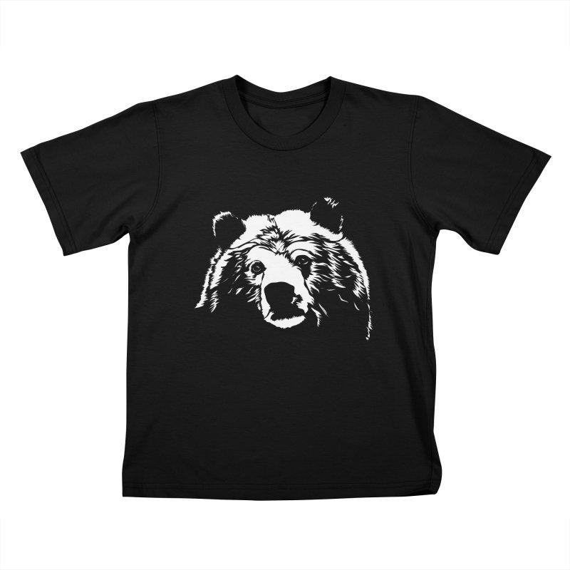 Grizzly Bear Kids T-Shirt by Chris Talbot-Heindls' Artist Shop