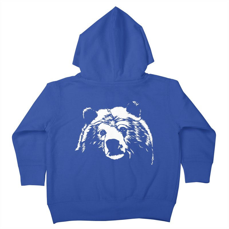 Grizzly Bear Kids Toddler Zip-Up Hoody by Chris Talbot-Heindls' Artist Shop
