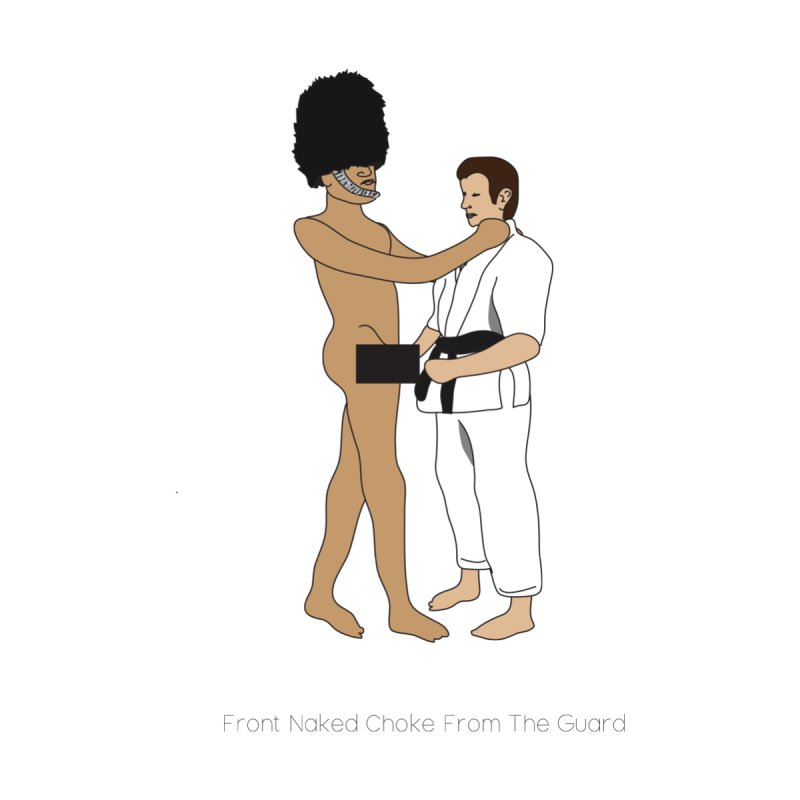 Front Naked Choke From the Guard by Chris Talbot-Heindls' Artist Shop