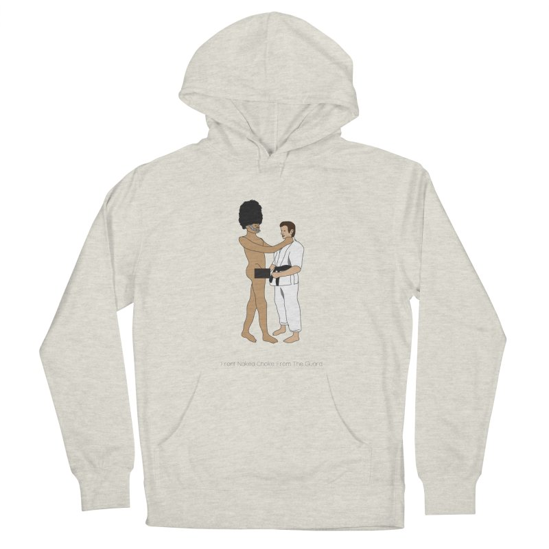 Front Naked Choke From the Guard Women's French Terry Pullover Hoody by Chris Talbot-Heindls' Artist Shop