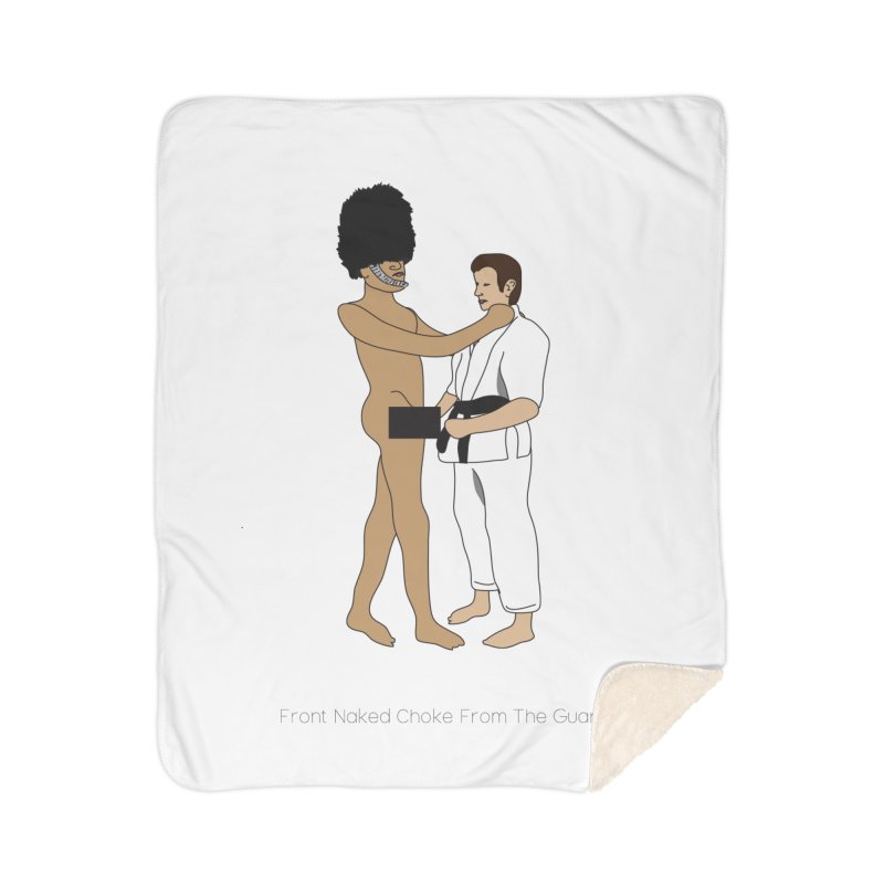 Front Naked Choke From the Guard Home Sherpa Blanket Blanket by Chris Talbot-Heindls' Artist Shop