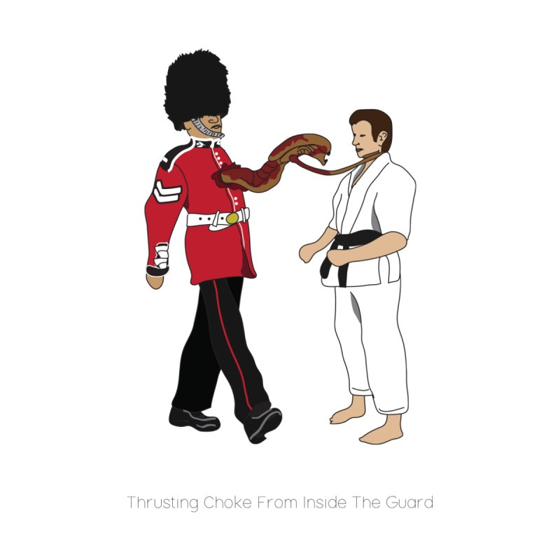 Thrusting Choke From Inside the Guard by Chris Talbot-Heindls' Artist Shop