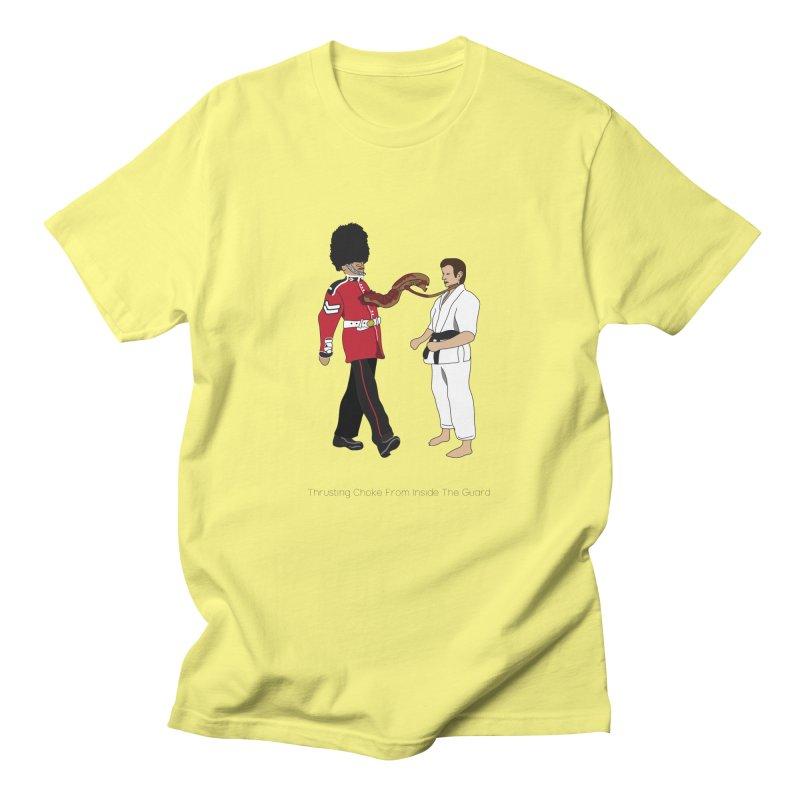 Thrusting Choke From Inside the Guard Men's T-Shirt by Chris Talbot-Heindls' Artist Shop