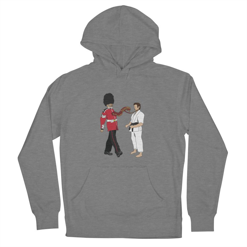 Thrusting Choke From Inside the Guard Men's French Terry Pullover Hoody by Chris Talbot-Heindls' Artist Shop