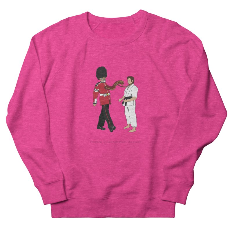 Thrusting Choke From Inside the Guard Women's French Terry Sweatshirt by Chris Talbot-Heindls' Artist Shop