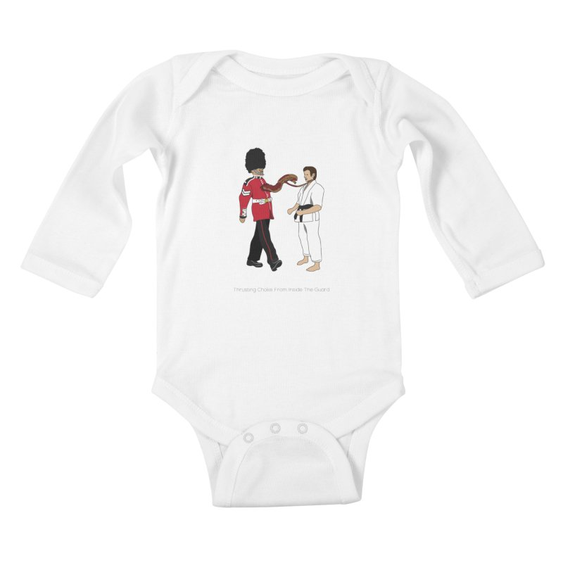 Thrusting Choke From Inside the Guard Kids Baby Longsleeve Bodysuit by Chris Talbot-Heindls' Artist Shop