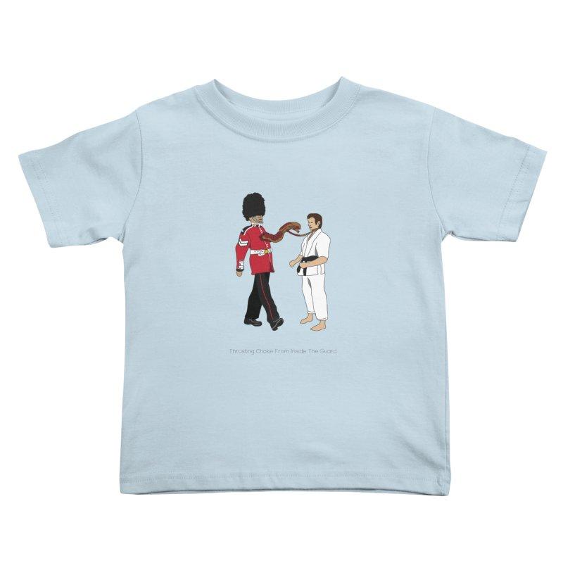 Thrusting Choke From Inside the Guard Kids Toddler T-Shirt by Chris Talbot-Heindls' Artist Shop
