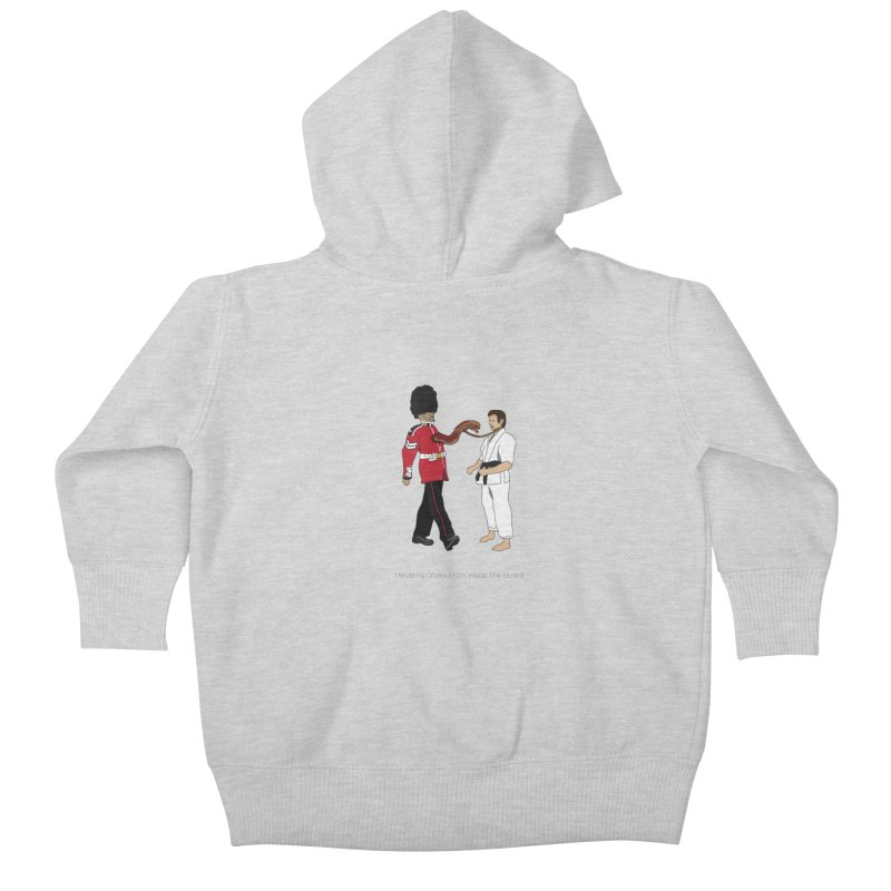 Thrusting Choke From Inside the Guard Kids Baby Zip-Up Hoody by Chris Talbot-Heindls' Artist Shop