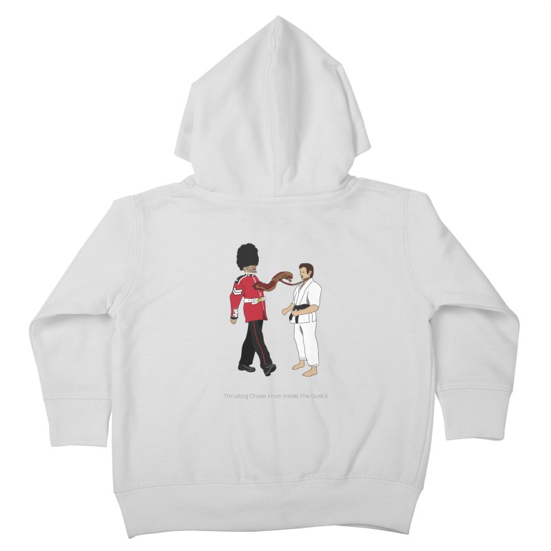 Thrusting Choke From Inside the Guard Kids Toddler Zip-Up Hoody by Chris Talbot-Heindls' Artist Shop