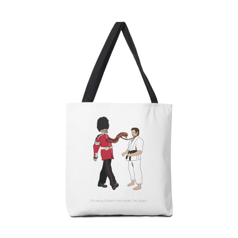 Thrusting Choke From Inside the Guard Accessories Tote Bag Bag by Chris Talbot-Heindls' Artist Shop