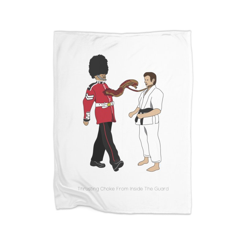 Thrusting Choke From Inside the Guard Home Fleece Blanket Blanket by Chris Talbot-Heindls' Artist Shop