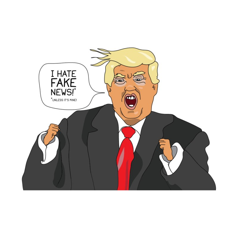 Fake News Tantrum by Chris Talbot-Heindls' Artist Shop