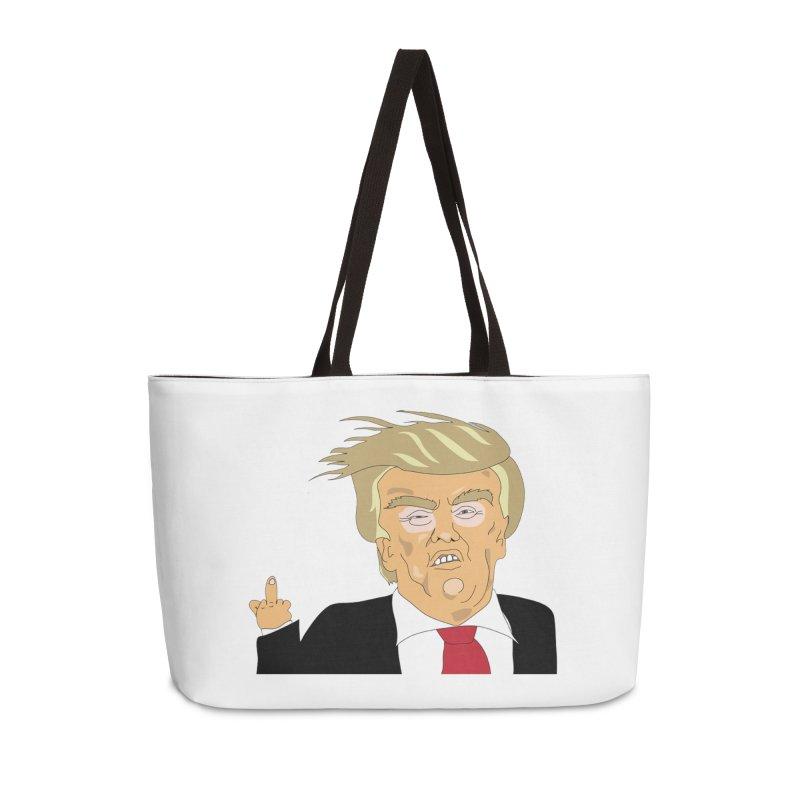 The Trump Policy Accessories Weekender Bag Bag by Chris Talbot-Heindls' Artist Shop