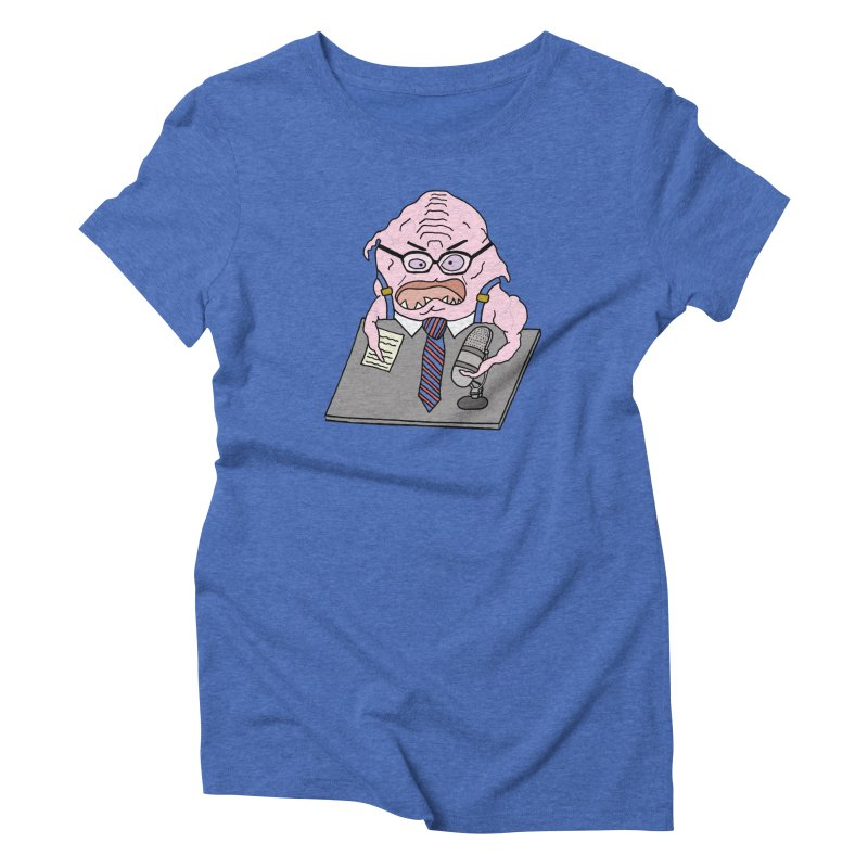 Larry Krang Women's Triblend T-Shirt by Christinah