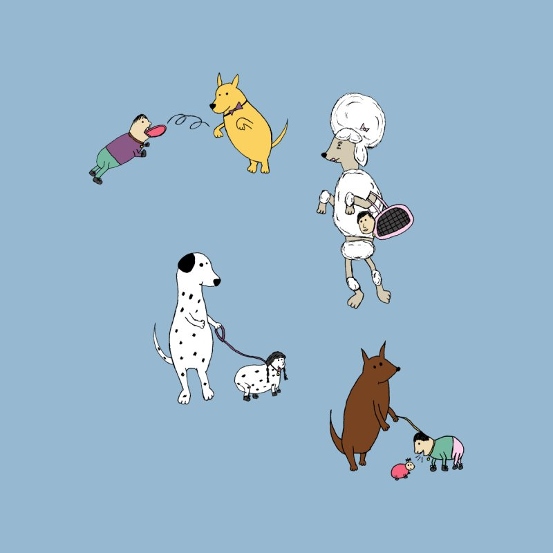 It's a Dog's World Men's T-Shirt by Christinah