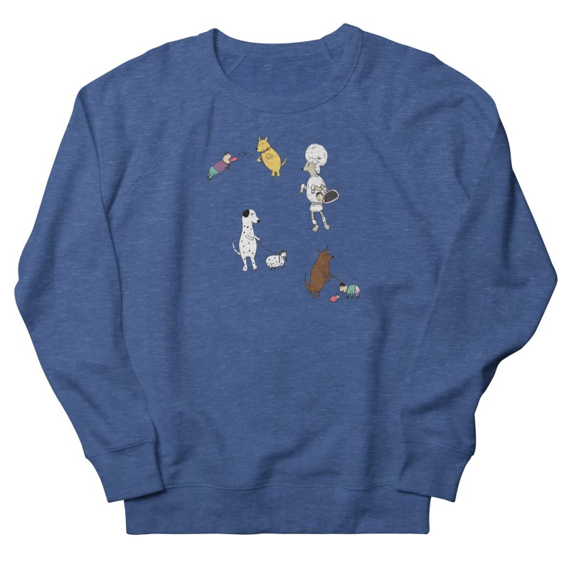 It's a Dog's World Women's Sweatshirt by Christinah