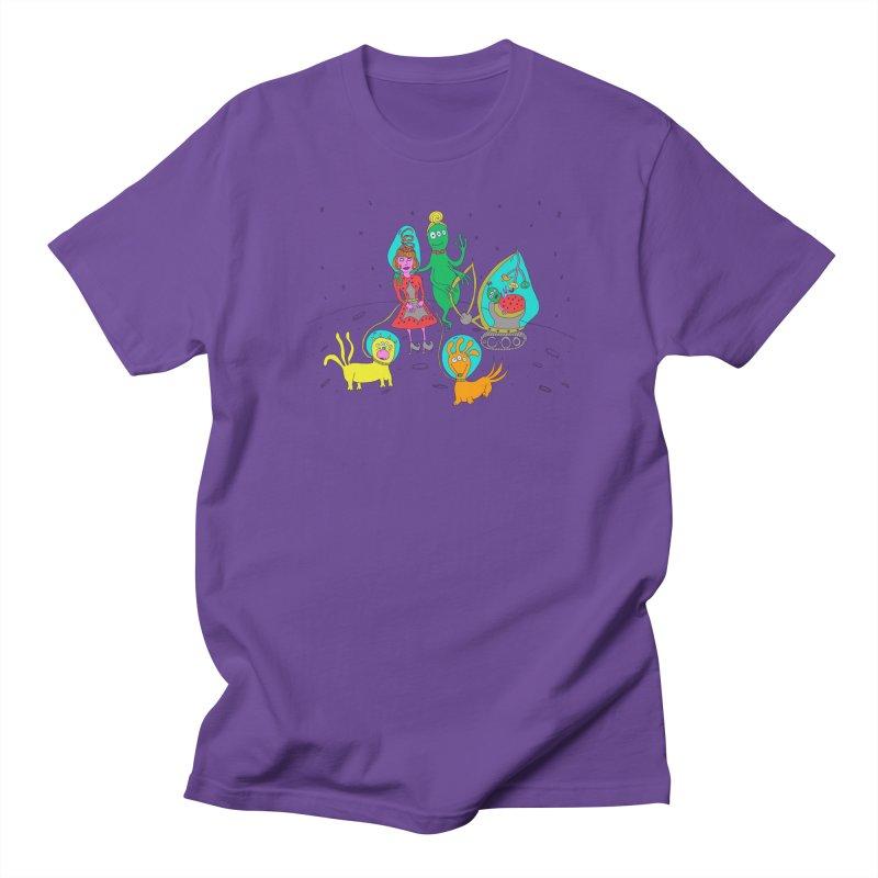 A Retro Future Family Men's T-shirt by Christinah