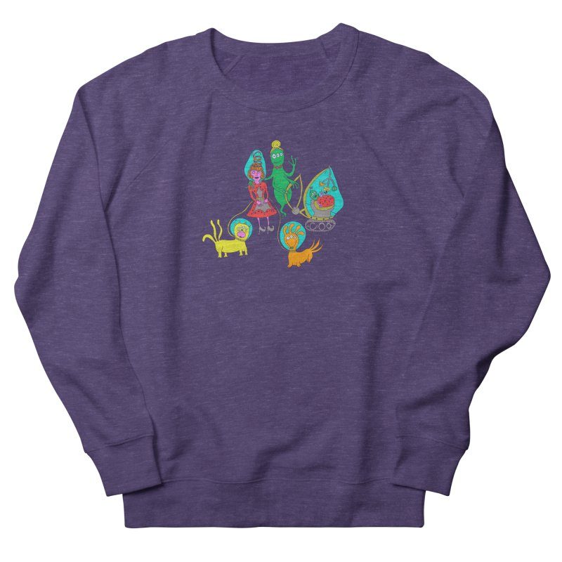 A Retro Future Family Men's Sweatshirt by Christinah