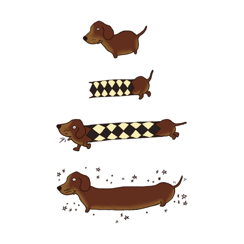 Perfect creation of a dachshund   by Christinah