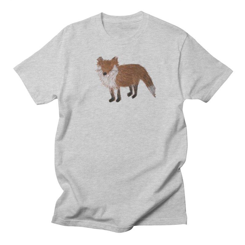 Mr. Pine Needle Fox Men's T-Shirt by Christinah
