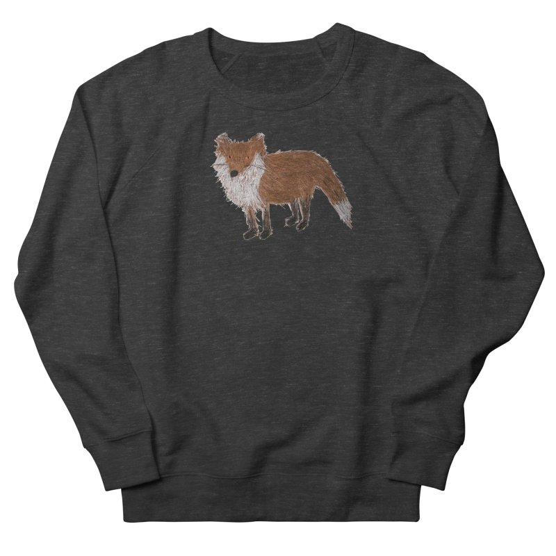 Mr. Pine Needle Fox Men's Sweatshirt by Christinah